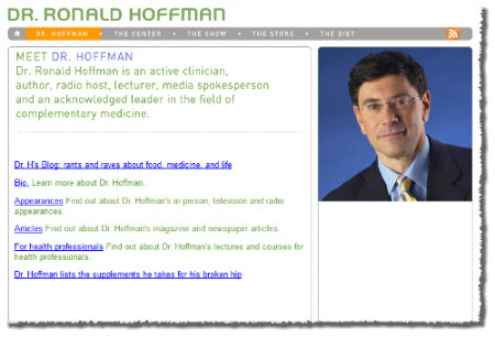 Dr Hoffman Specific Carbohydrate Diet