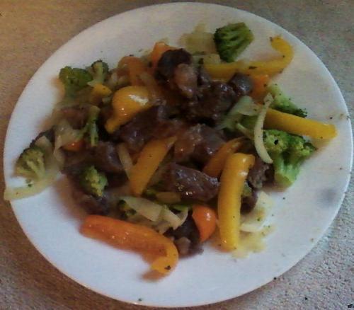 Paleo GAPS SCD Lazy Beef Stir Fry