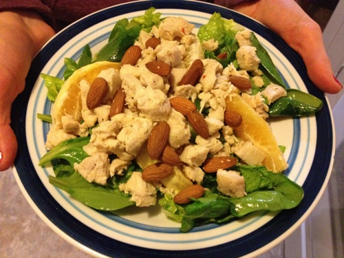 Paleo SCD GAPS Citrus Chicken Salad