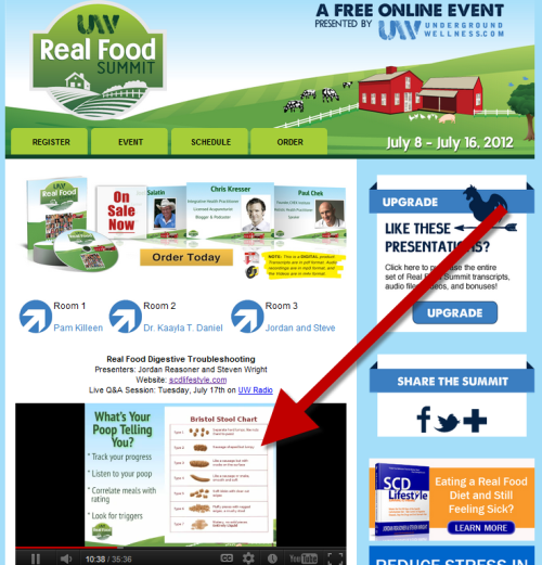 Real Food Summit Troubleshooting Your Diet