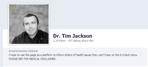 Dr Tim Jackson