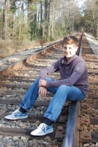 Pic of Justin Crohn's success story