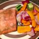 ginger salmon dinner
