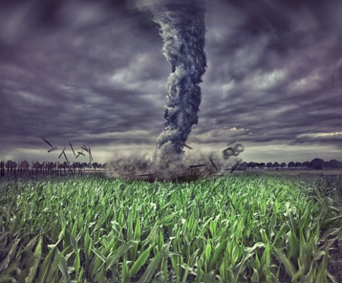 Pic of crazy tornado