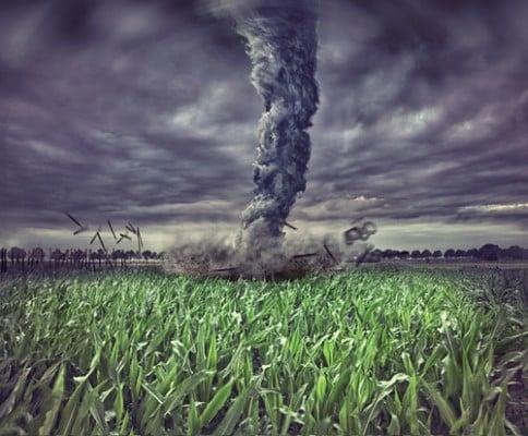 Pic of crazy tornado
