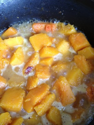 "Pic of Angela's Butternut Squash ""Mac n' Cheese"" close-up"