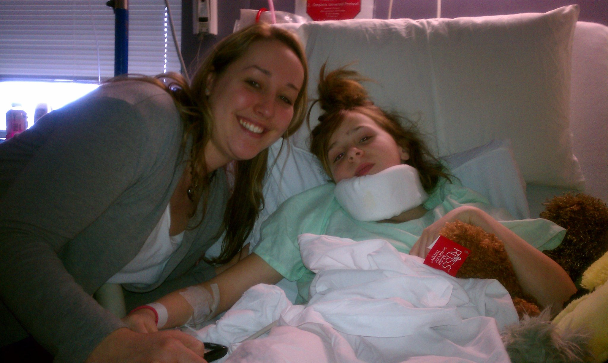 haley in hospital