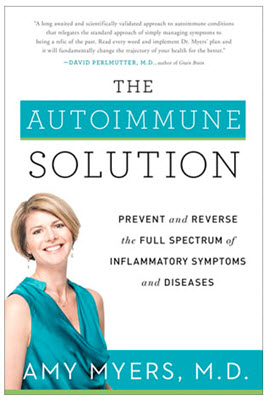 Amy Myers MD Book Cover, The Autoimmune Solution