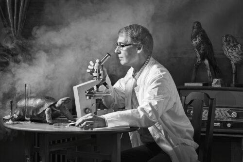 mad-scientist-lab-black-and-white