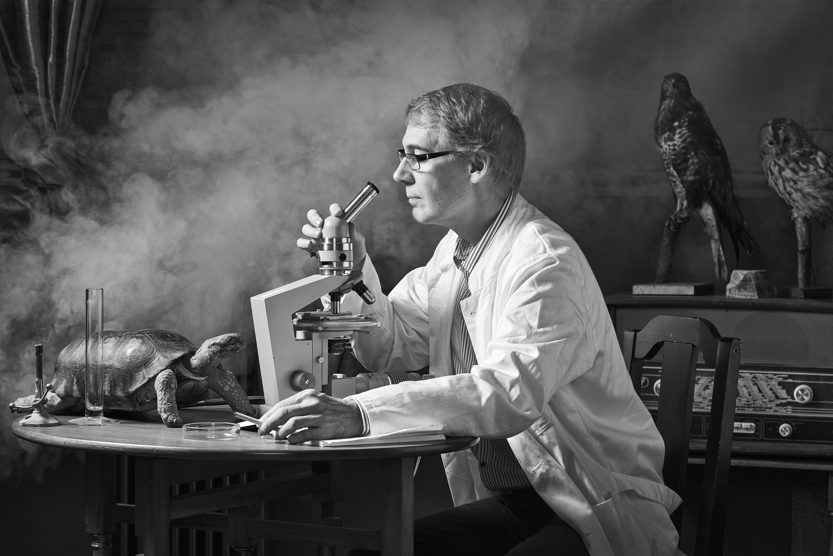 mad-scientist-lab-black-and-white