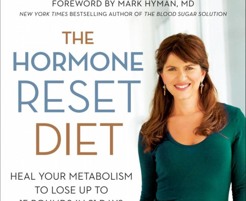 Sara Gottfried book cover image, The Hormone Reset Diet