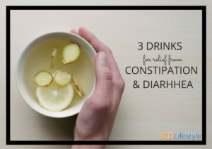 3 drinks for relief from constipation and diarhhea