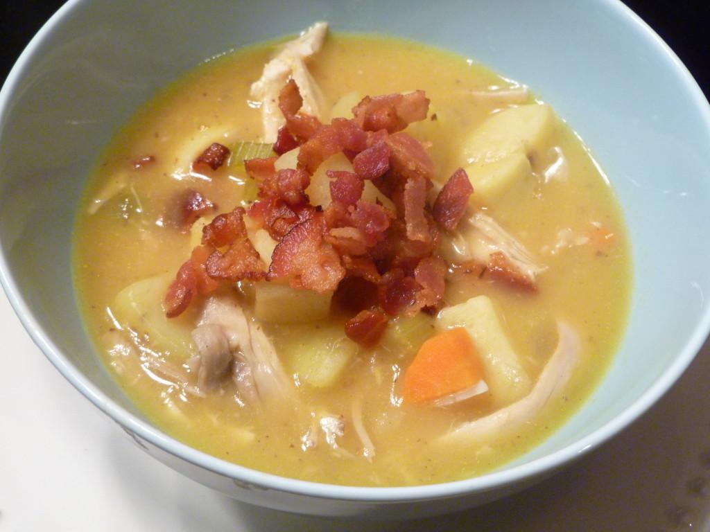 creamy-potato-and-chicken-soup
