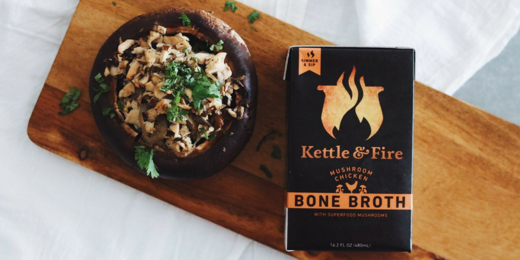 Kettle & Fire Mushroom Chicken Bone Broth