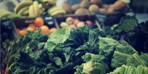 various fruits and veggies