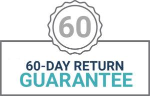 60 day return guarantee logo
