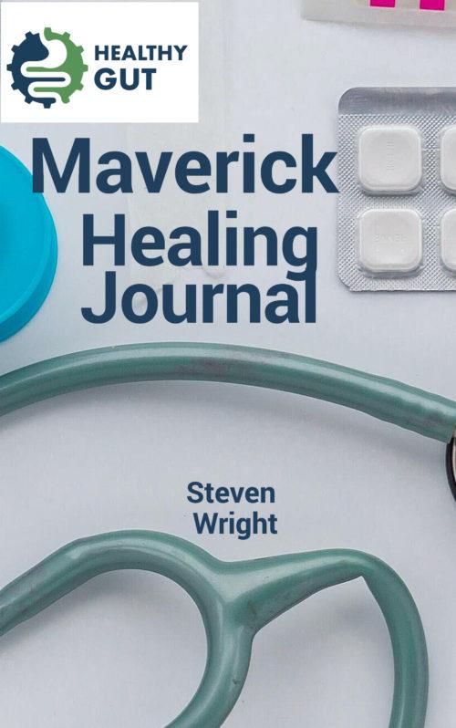 Maverick healing journal vertical rectangle book cover